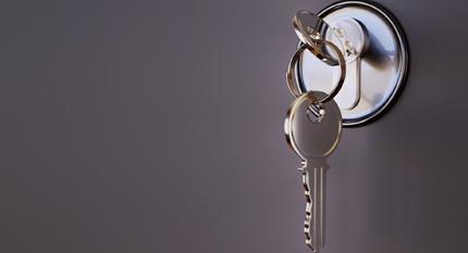 Home key unlocking